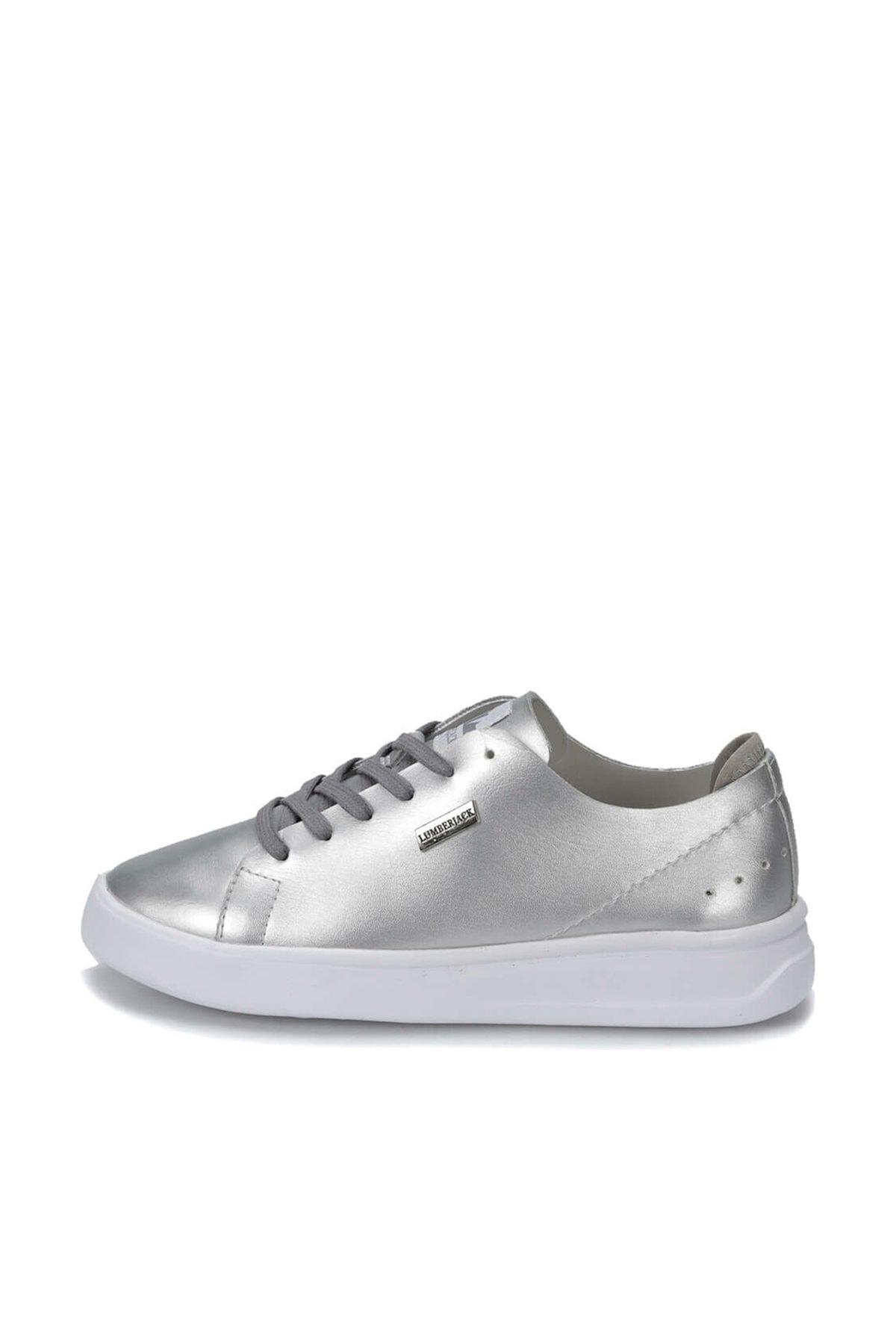 lumberjack CRAZY Gümüş Kadın Sneaker Ayakkabı 100367240 2