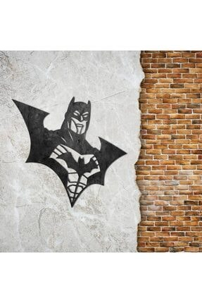 The Lucid Lab Batman Kostüm Metal Tablo