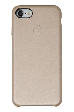 Joyroom Apple Iphone 7/8 Deri Kılıf Içi Süet Altın