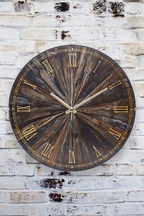 Muyika Design Muyika Oscurita Antica Oval Ön Kısım Eskitme 36Cm Duvar Saati
