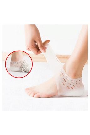 zabata Boy Uzatıcı Şeffaf Gizli Topuk Ayakkabı Tabanlığı 4 cm