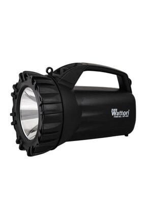 Watton Profesyonel Şarjlı El Feneri Projektör Wt-400