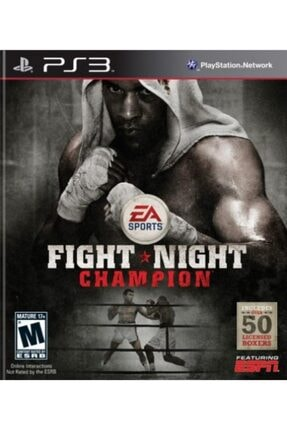 EA Sports Ps3 Fıght Nıght Champion