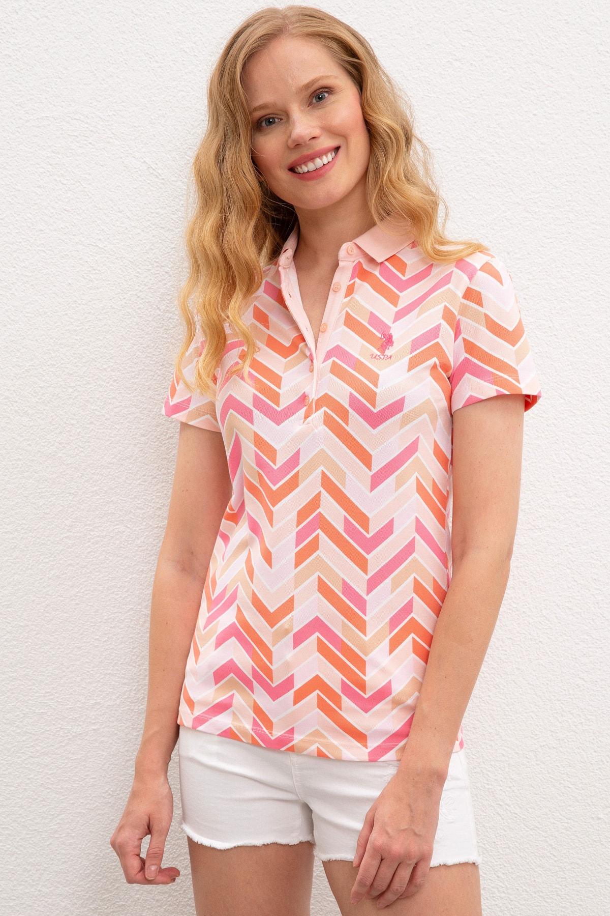 U.S. Polo Assn. Kadın T-Shirt G082GL011.000.964122 1