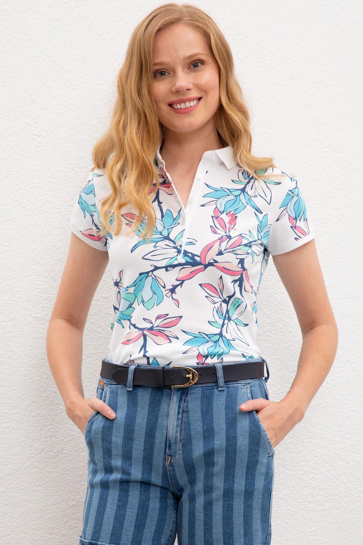 U.S. Polo Assn. Kadın T-Shirt G082GL011.000.964115 1