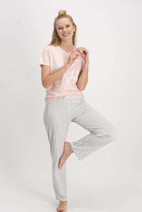 ROLY POLY Arnetta Kadın Kısa Kol Pijama Takımı Ar887