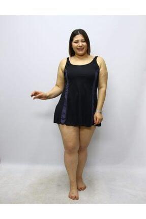 Argisa Büyük Beden Kadın Elbise Mayo Şortlu