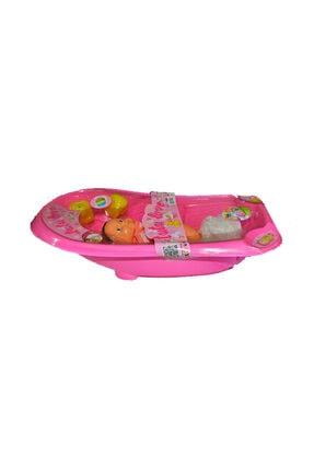 Can Toys 9009A Küvetli Bebek Bornozlu