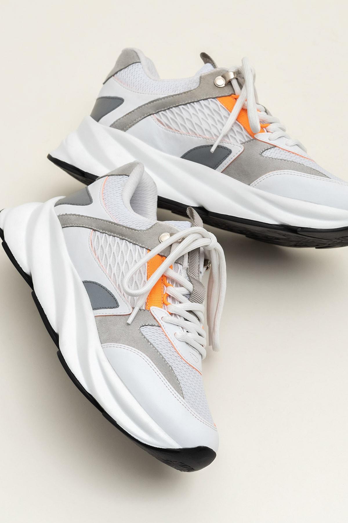 Elle Shoes ANJELA Turuncu Neon Kadın  Sneaker 20YKN5205 1