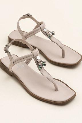 Elle Shoes DESPINA Bej Sandalet 20YEK3143732