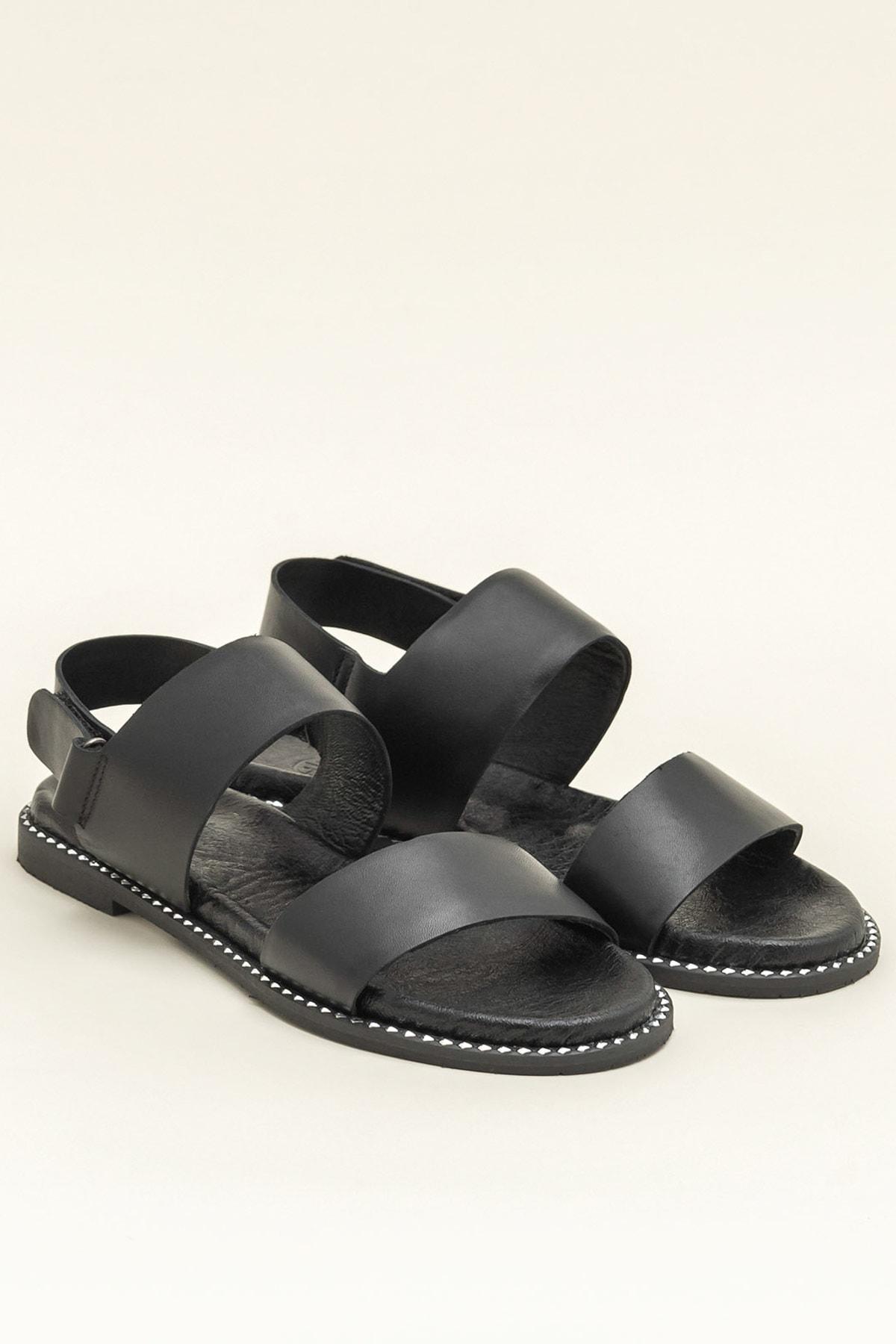 Elle Shoes LARHONDA Siyah Sandalet 20YRE4650 2