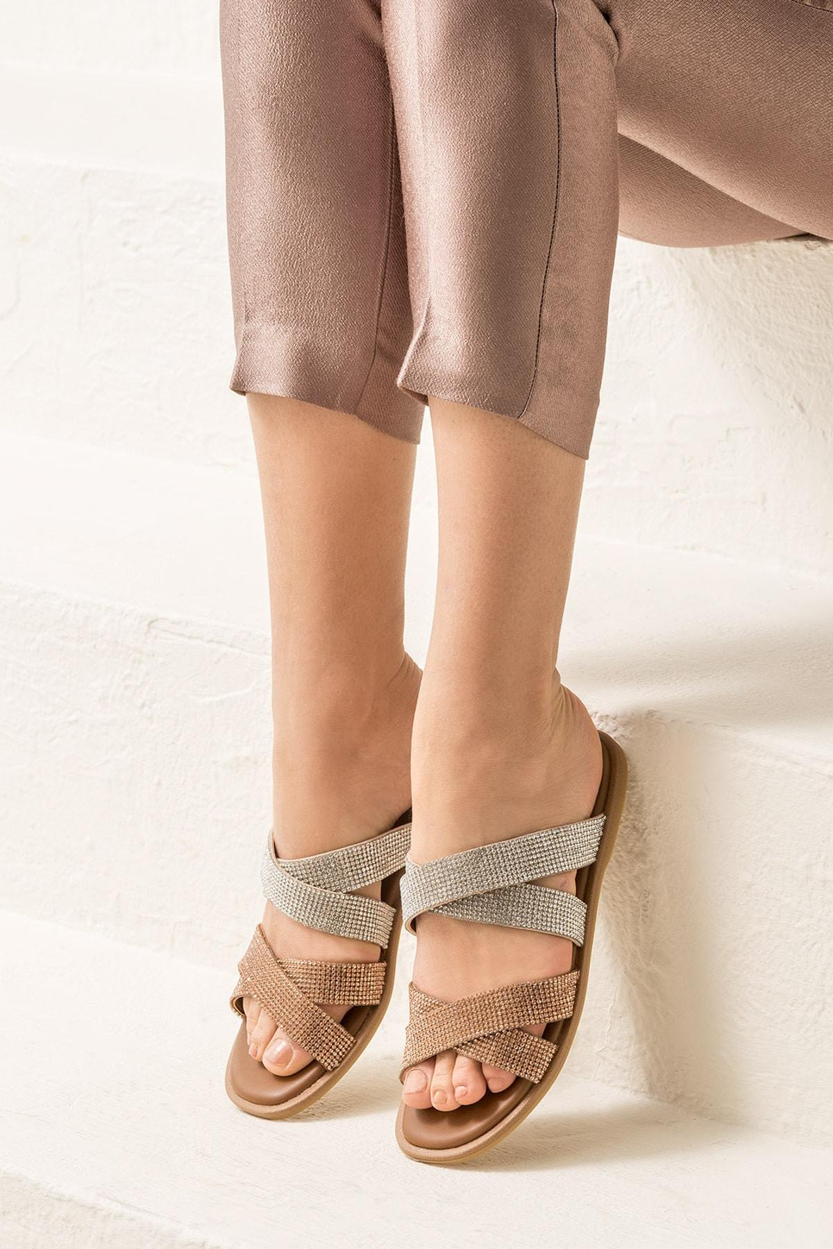 Elle Shoes SHANAA Rose Terlik 20YLT103052 1