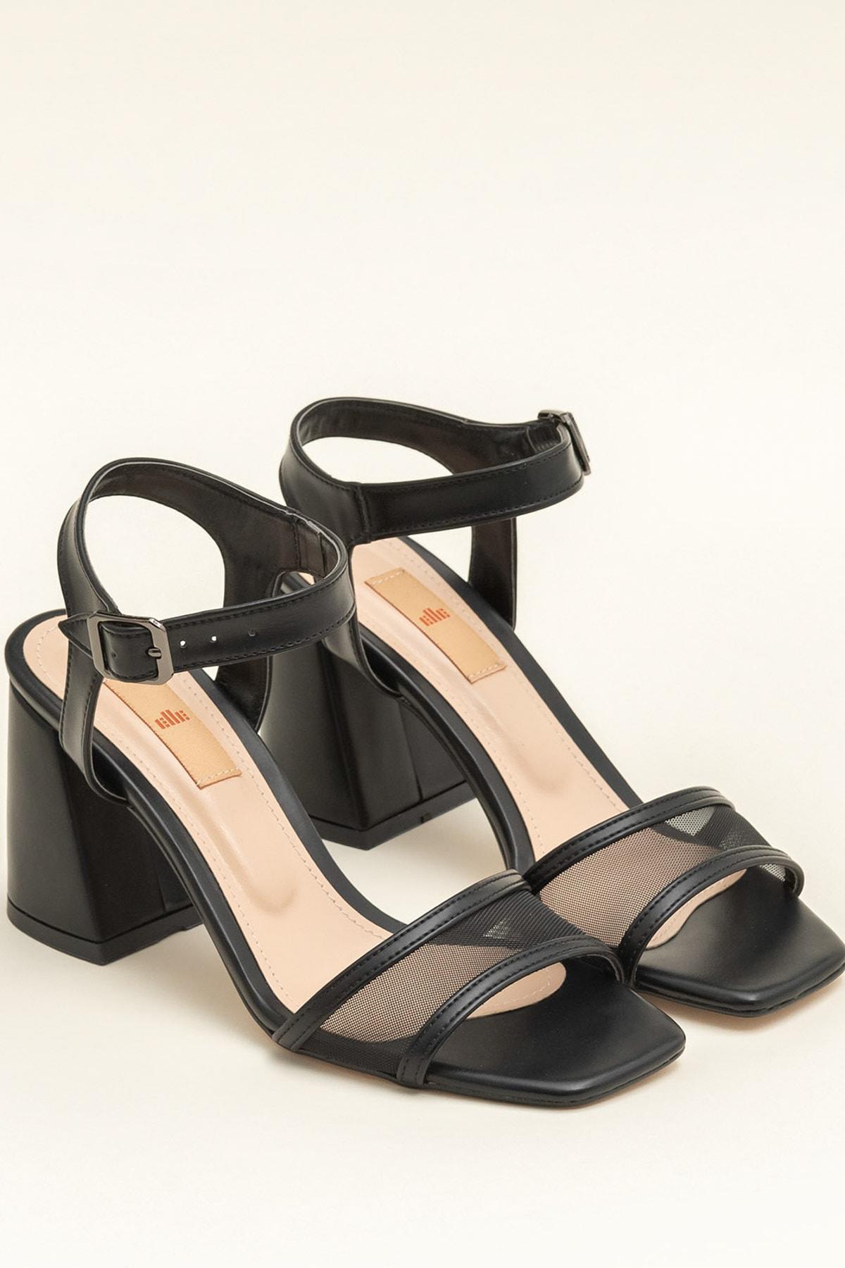 Elle Shoes KINE Siyah Kadın  20YBU6298-512 2