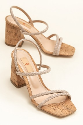 Elle Shoes MINA Vizon Kadın  20YBU6298-533