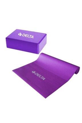 Delta 6 Mm Yoga Matı - Pilates Minderi Ve Yoga Blok Yoga Köpüğü