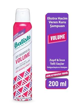 Batiste Ekstra Hacim Veren Kuru Şampuan - Hair Benefits Volume Dry Shampo 200 ml 5010724532966