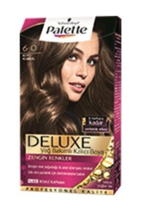 Palette Saç Boyası Deluxe 6 0 Koyu Kumral 50 ml 8690572781098
