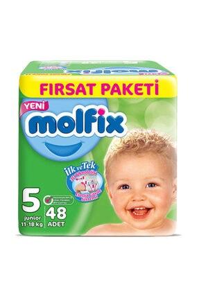 Molfix Bebek Bezi 5 Beden Junior Fırsat Paketi 48 Adet