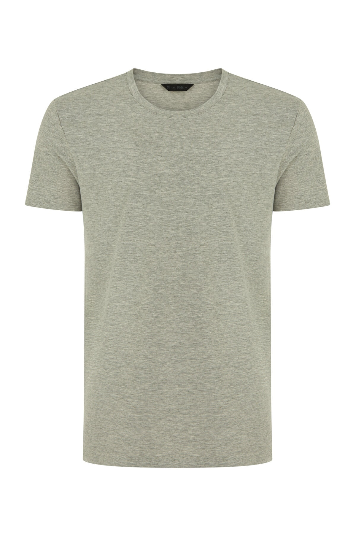 Penti Erkek Black-Grey Basic Regular 2Li Ss Tişört