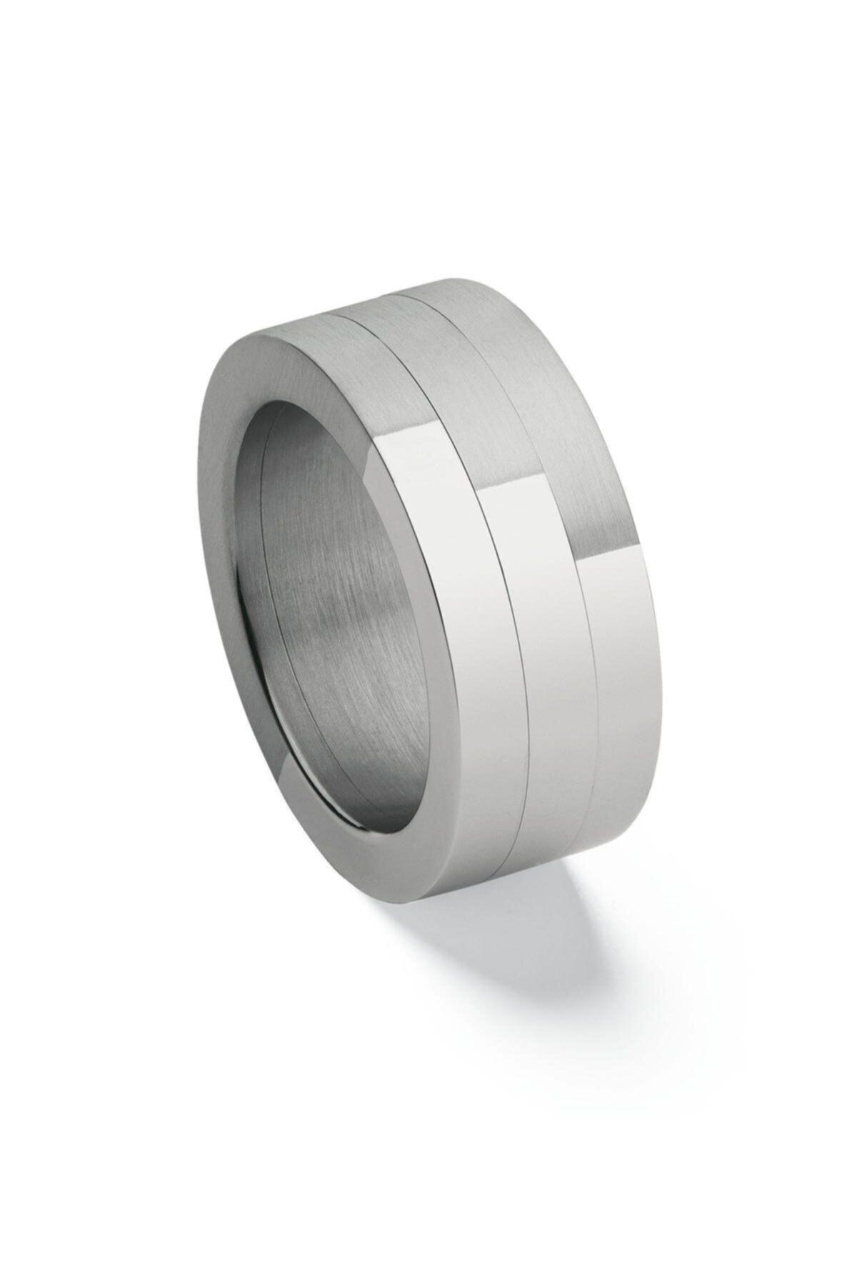 Swatch Unisex Gümüş Paslanmaz Çelik Yüzük 1