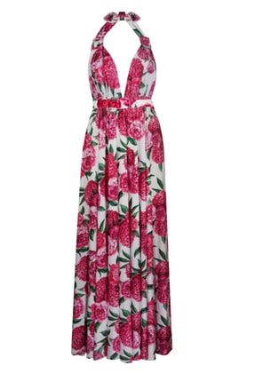 Nur Karaata Kadın Pembe Elbise Nksaponarıa1