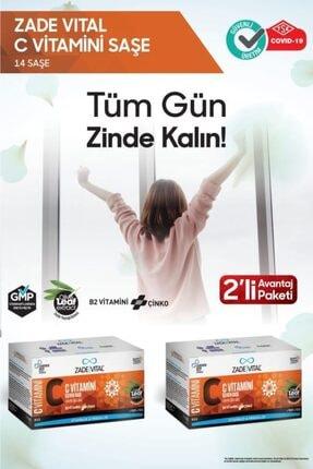 Zade Vital C Vitamini 14 Saşe *2 (2'li Avantaj Paketi)