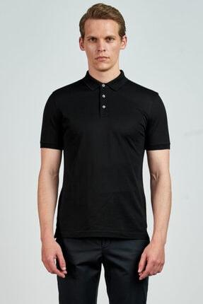 Giovane Gentile Erkek Siyah T-Shirt LB0651201911