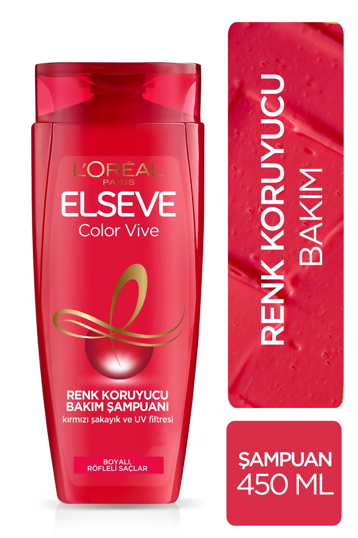 ELSEVE L'oréal Paris Colorvive Renk Koruyucu Bakım Şampuanı 450 ml 1
