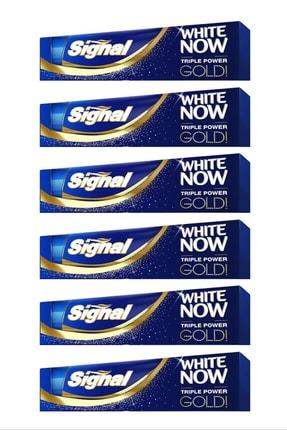 Signal White Now Gold Diş Macunu 75 ml X 6 Adet