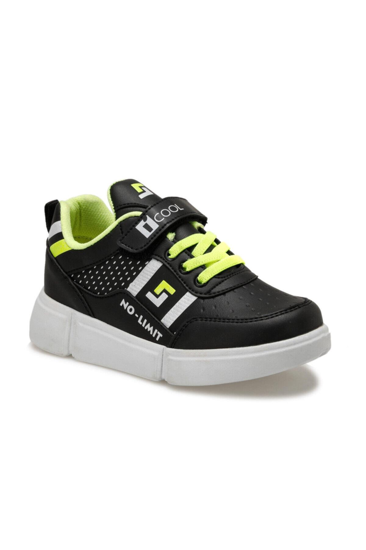 I COOL NOTE Siyah Erkek Çocuk Sneaker Ayakkabı 100516399 1