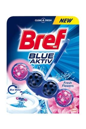 Bref Blue Aktiv Klozet Bloğu Taze Çiçekler