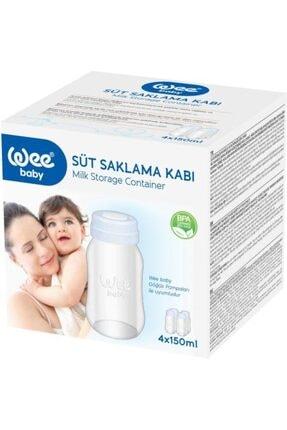 Wee Baby 4x150 Ml Süt Saklama Kabı