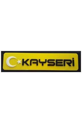 BoostZone Kayseri Dekor Sarı Plaka