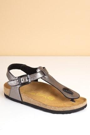Pierre Cardin PC-5056 Platin Kadın Sandalet