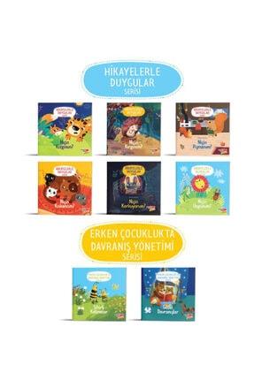 Dikkat Atölyesi Yayınları Dikkat Atölyesi 2-6 Yaş Hikayelerle Duygular Serisi Ve Davranış Yönetimi Serisi