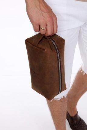 Blacksea Leather Hakiki Deri Kişisel Bakım & Makyaj Çantası