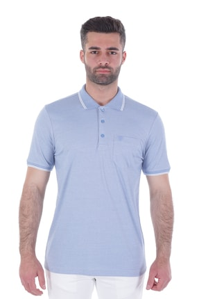 Diandor Polo Yaka Erkek Tshirt Bej-Ekru 1917065
