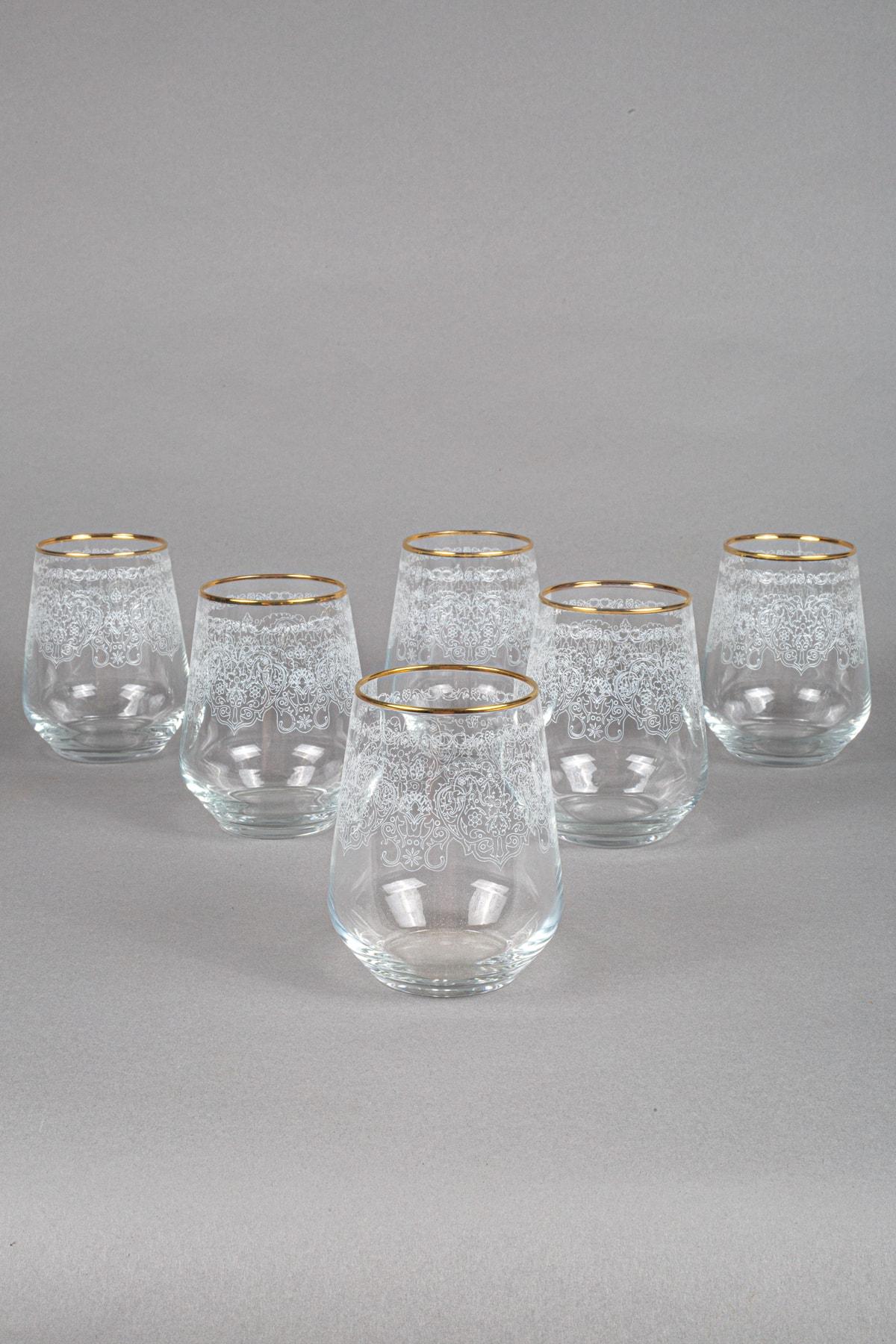 Rakle Helen 6'lı Su Bardağı Seti_425 cc 1