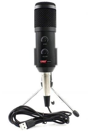 Lastvoice Bm300 Usb Twitch Yayıncı Mikrofonu (7.1 Dönüştürücü Hediye)