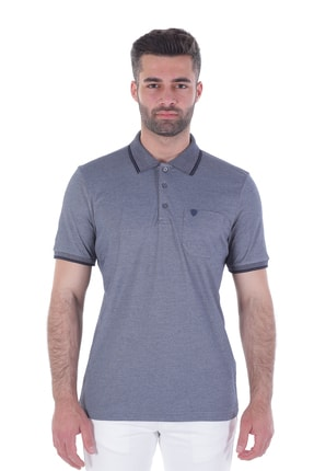 Diandor Polo Yaka Erkek Tshirt Lacivert/Navy 1917065