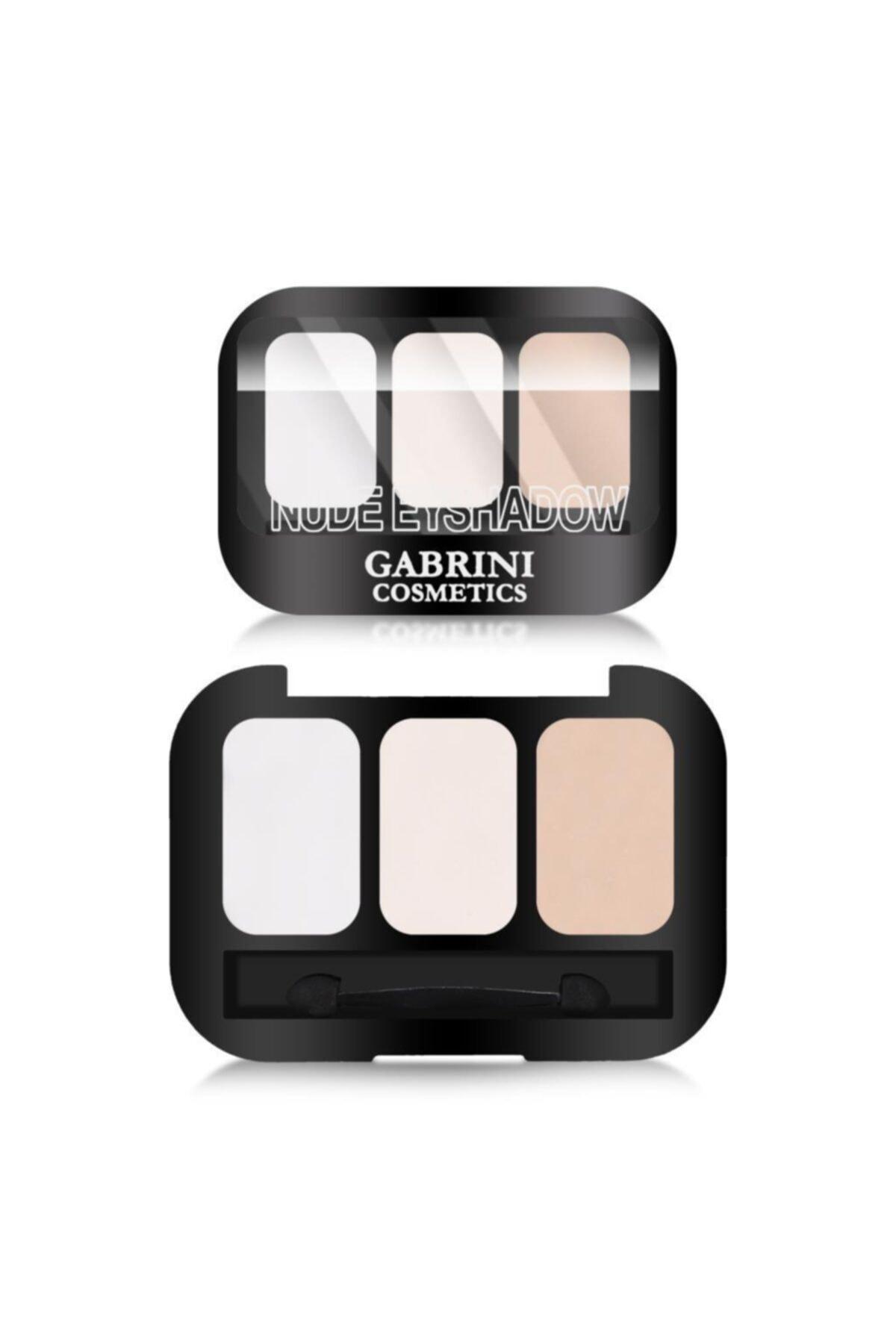 Gabrini 3'lü Nude Göz Farı - Nude Eyeshadow 101 8696814078216 1