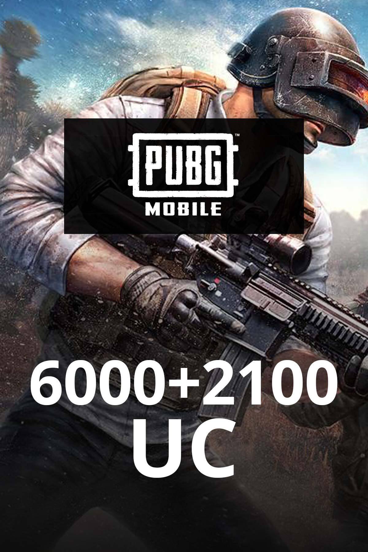 PUBG Mobile 6000 +2100 UC