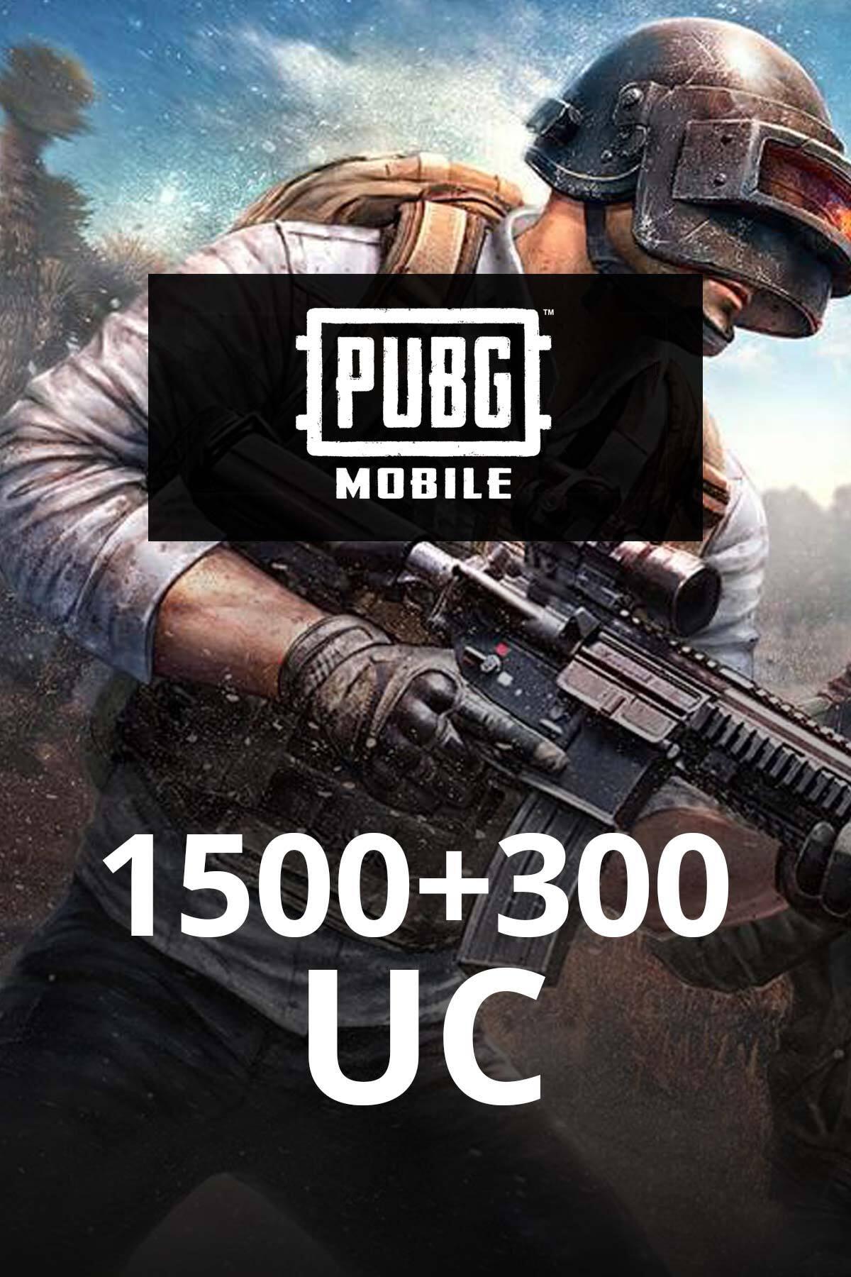 PUBG Mobile 1500 + 300 UC