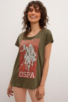 U.S. Polo Assn. Kadın T-Shirt G082SZ011.000.941153