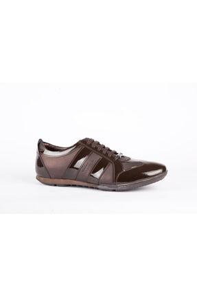 VERSACE COLLECTION Erkek Kahverengi Günlük Sneakers Ayakkabı