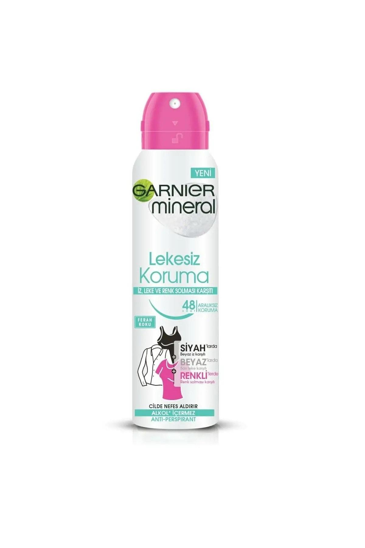Garnier Anti - Perspirant Sprey Deodorant - Lekesiz Koruma 150 Ml 1