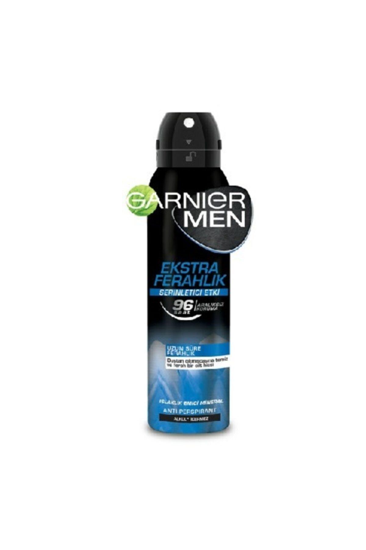 Garnier Men Ekstra Ferahlık Serinletici Etki Deodorant 150ml 1