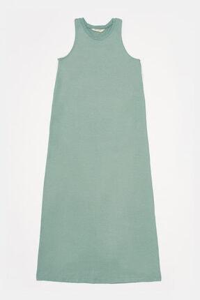 Katia&Bony Kadın Midi Elbise - Yeşil
