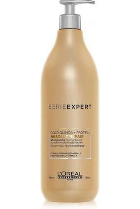 L'oreal Professionnel Aşırı Yıpranmış Saçlar Için Onarıcı Şampuan - Absolut Repair Gold Quinoa 980 Ml Özel Seri
