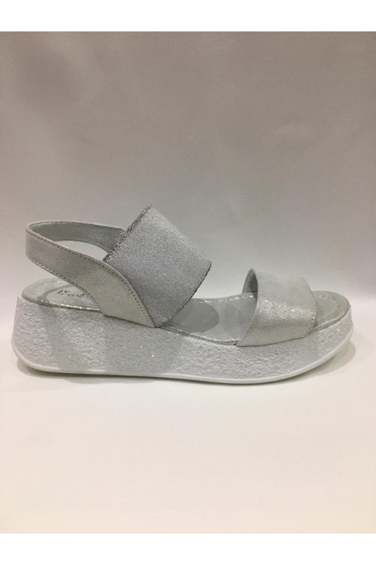 Pierre Cardin Kadın Beyaz Sandalet 1